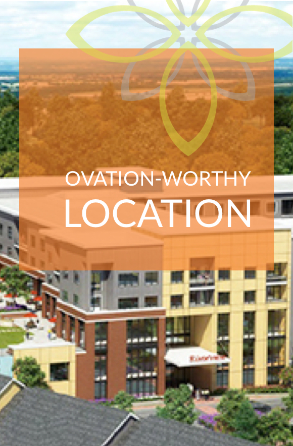 Ovation-worthy Location